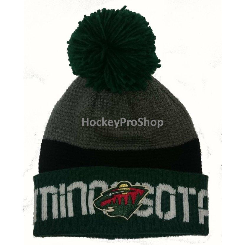 ... Zimní čepice (kulich) Reebok Team Pom Knit - Minnesota Wild.   images teammin-1.jpg 5bee42674d