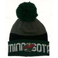 Zimní čepice (kulich) Reebok Team Pom Knit - Minnesota Wild 4c7ac36813